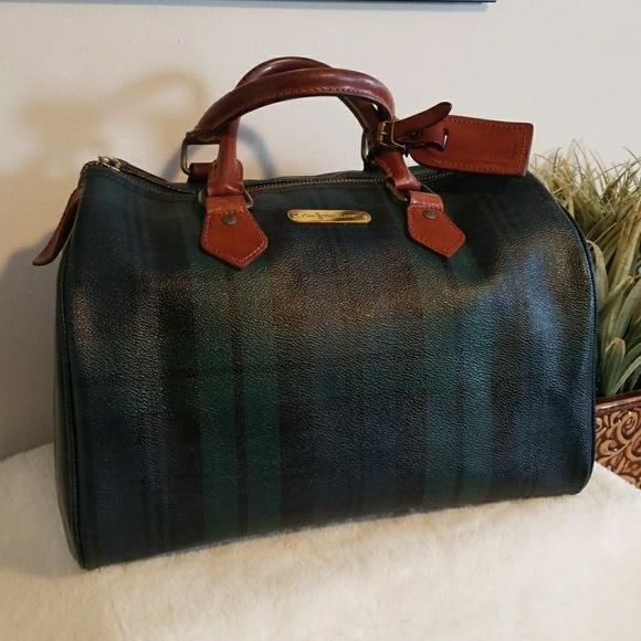 074632fe7e Mint Vintage Ralph Lauren Tartan-Plaid speedy Bag!  M 5a9ebf5f8df47041addcafe4